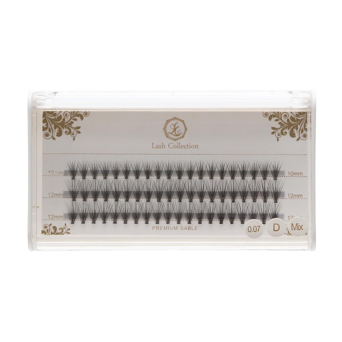 Premium Mink Eyelash Extension 20 Flare Lashes - J Curl